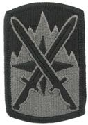 10th Sustainment Brigade Army Patch ACU With Velcro