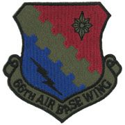 66th Airbase Wing Subdued Air Force Patch