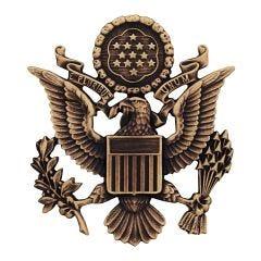 US Army AGSU Officer Cap Device