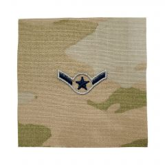 Space Force Embroidered OCP Sew-On Rank Insignia - Specialist 2