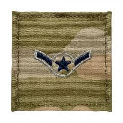 Space Force Embroidered OCP With Hook Rank Insignia - Specialist 2