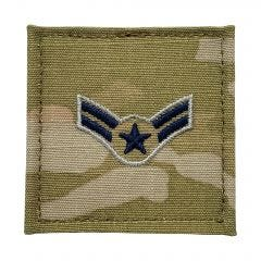 Space Force Embroidered OCP With Hook Rank Insignia - Specialist 3