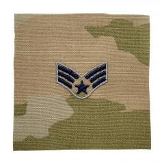 Space Force Embroidered OCP Sew-On Rank Insignia - Specialist 4