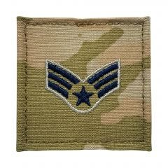 Space Force Embroidered OCP With Hook Rank Insignia - Specialist 4