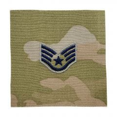 Space Force Embroidered OCP Sew-On Rank Insignia - Sergeant
