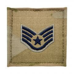 Space Force Embroidered OCP With Hook Rank Insignia - Sergeant