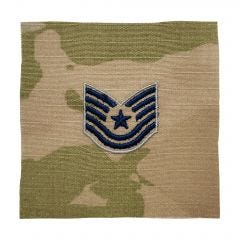 Space Force Embroidered OCP Sew-On Rank Insignia - Technical Sergeant