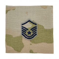 Space Force Embroidered OCP Sew-On Rank Insignia - Master Sergeant