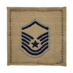 Space Force Embroidered OCP With Hook Rank Insignia - Master Sergeant