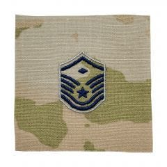 Space Force Embroidered OCP Sew-On Rank Insignia - Master Sergeant - First Sergeant