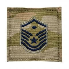 Space Force Embroidered OCP With Hook Rank Insignia - Master Sergeant - First Sergeant