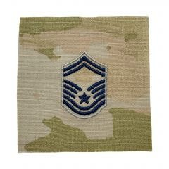 Space Force Embroidered OCP Sew-On Rank Insignia - Senior Master Sergeant