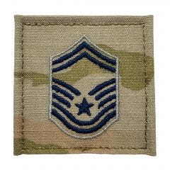 Space Force Embroidered OCP With Hook Rank Insignia - Senior Master Sergeant