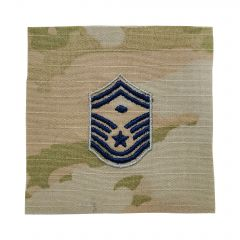 Space Force Embroidered OCP Sew-On Rank Insignia - Senior Master Sergeant - First Sergeant