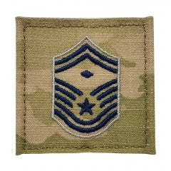 Space Force Embroidered OCP With Hook Rank Insignia - Senior Master Sergeant - First Sergeant
