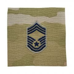 Space Force Embroidered OCP Sew-On Rank Insignia - Chief Master Sergeant