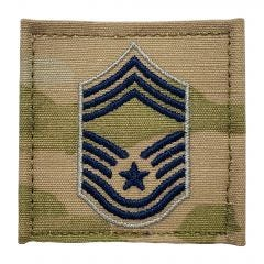 Space Force Embroidered OCP With Hook Rank Insignia - Chief Master Sergeant