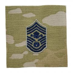 Space Force Embroidered OCP Sew-On Rank Insignia - Chief Master Sergeant Of The Space Force