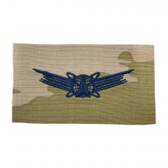 Space Force Embroidered OCP Sew-On Occupational Badge - Space Command - Basic