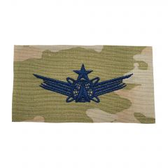 Space Force Embroidered OCP Sew-On Occupational Badge - Space Command - Senior