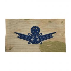 Space Force Embroidered OCP Sew-On Occupational Badge - Space Command - Master