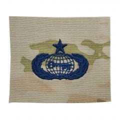 Space Force Embroidered OCP Sew-On Occupational Badge - Intelligence - Senior