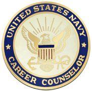 Career Counselor Navy Badge
