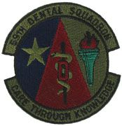 59th Dental Squadron Subdued Air Force Patch