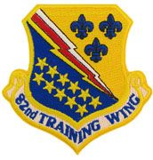 82nd Training Wing Regular With Velcro