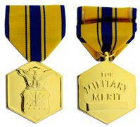 Air Force Commendation Anodized Large Medal