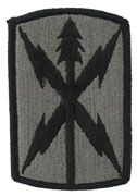 1106th Signal Brigade Army Patch ACU With Velcro