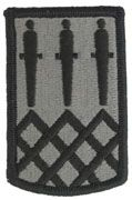 115th Field Artillery Brigade Army Patch ACU With Velcro