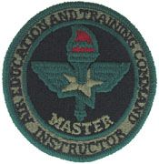 Air Education & Training Command Master Instructor ABU Air Force Patch