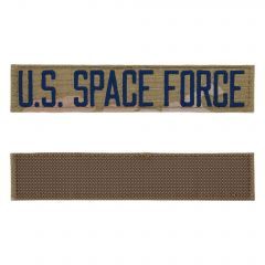 Space Force Embroidered OCP With Hook Branch Of Service Tape