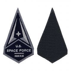 Space Force Embroidered With Hook Service Patch