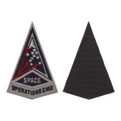 Space Force Embroidered Space Ops Command w/ hook Service Patch