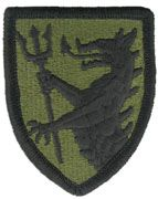 108Th Armored Cavalry Army Patch Subdued