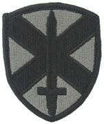 10th Personnel Command Army Patch ACU with Velcro