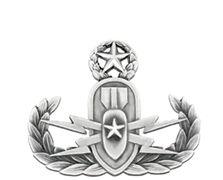 Explosive Ordnance Disposal EOD Master Silver-Ox Mini Navy Badge
