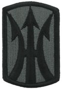 11th Infantry Brigade Army Patch ACU With Velcro