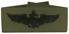 Aviation Subdued Navy Badge