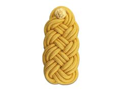 ARMY SHOULDER KNOT  SYNTHETIC GOLD  FEMALE