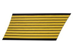 ARMY SERVICE STRIPES  27 YEAR GOLD/BLUE