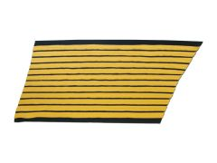 ARMY SERVICE STRIPES  36 YEAR GOLD/BLUE