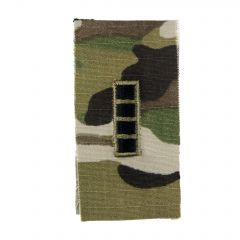 Army Embroidered OCP Sew-On Rank Insignia - Chief Warrant Officer 4 (CW4)