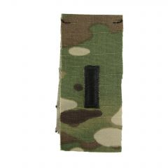 Army Embroidered OCP Sew-On Rank Insignia - First Lieutenant (1LT)