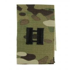 Army Embroidered OCP Sew-On Rank Insignia - Captain (CPT)
