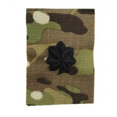 Army Embroidered OCP Sew-On Rank Insignia - Lieutenant Colonel (LTC)