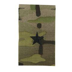 Army Embroidered OCP Sew-On Rank Insignia - Brigadier General (BG)