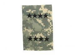ARMY CAP DEVICE  GENERAL  ACU-SEW ON